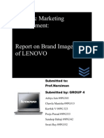Report on LENOVO laptops