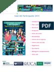 GuÃ-A Del Participante 2015 certamen juvenil (1)