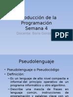 Introducción a La Programación4 pseint