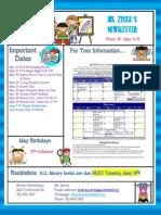week 35 newsletter