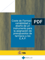 COSTO GENERAL FARMACIAS