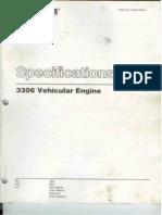 Primera Parte 3306 Vehicular Engine