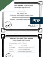 danielson evaluation pd