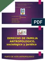 Derecho de Familia Antropologico