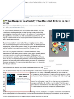 What Happens to a Society That Does Not Believe in Free Will_ - Scientific American