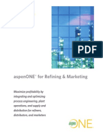 aspenONE® for Refining &Marketing