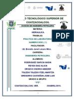 Manual Hidraulica 2014 7 Practicas - Copia