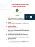 Guidelines on n200 Billion Sme Credit Guarantee