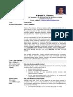 Albert Ramos CV - Information Technology