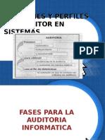 Funciones y Perfiles Del Auditor en Sistemas1