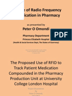 The Use of Radio Frequency Identificaion (RFID) in Pharmacy
