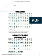 Languages of the Galaxy