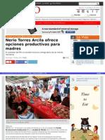 12-05-2015 Nerio Torres Arcila ofrece opciones productivas para madres.