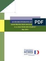 Rapport Mutuelles, défenseur des droits