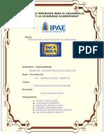 Investigacion de Mercados inka kola