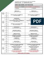 Grade Curricular 2014 (PROPOSTA 2ºsemestre )[1]