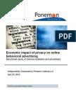 2010 Economic Impact of Privacy on OBA Report