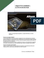 Gerando Arquivos Gerber e Furacao Altium Designer