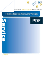 Finding Product Firmware Versions