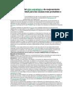 Plan Estratégico de Mejoramiento de La Productividad Para Las Causas Más Probables e Importantes
