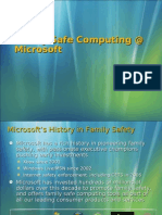 Family Safe Computing @ Microsoft