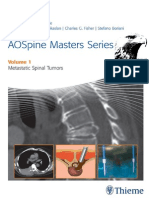 AOSpine Masters Series Volume 1 Metastatic Spinal Tumors