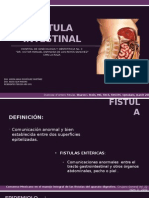 Fistulas Intestinales