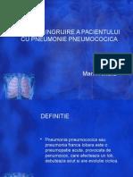 Plan de Ingrijire a Pacientului Cu Pneumonie
