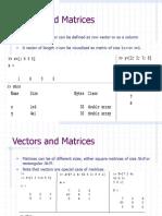 Matlab Ttutorial Matrices