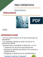 S.O Estructura