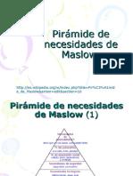 Pirámide de necesidades de Maslow