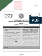 Prova Proficiencia Usp Direito_2013 Para 2014