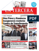 Diario La Tercera 12.05.2015