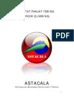 Diktat Panjat Tebing (Rock Climbing) Astacala - Bagian 1 Klasifikasi Panjat Tebing