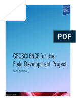 Geoscience for the Fdp 2015_2