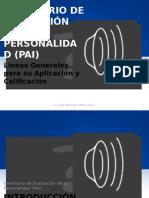 Inventario de Evaluacion de La Personalidad PAI Lineas Generales para su Aplicación y Calificación