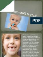 Sănătatea Orală La Copii