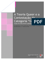 A teoria queer e a contestação da categoria 'género'