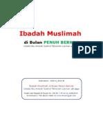 Ibadah Muslimah di Bulan Penuh Berkah.doc