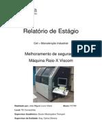 Relatório de Estágio Manutenção Industrial CET/UE