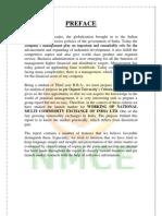Comodity Market Report of NMCE