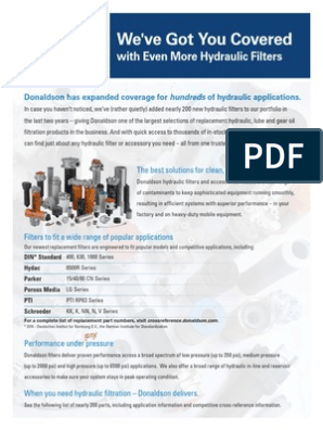 Oil Filter Cross Ref   Filtration   Chemical Engineering