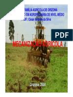 Classificação das Máquinas Agrícolas