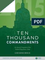 10,000 Commandments 2015 - 05-12-2015