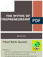 Myths about Entrepreneurs