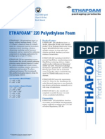 ethafoam-220 data sheet