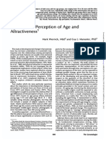 Age and Perception of Age
