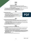 Spleen Notes CCNM 2010