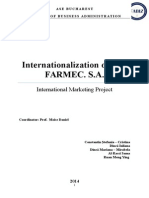 Project Marketing Intenational - Farmec