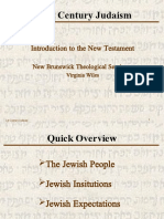 First Century Judaism